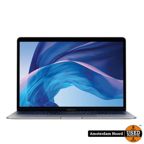Macbook Air 2019 13 i5-1.6GHz/8GB/256SSD Grijs