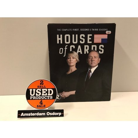 House Of Cards Blu-ray Seizoen 1t/m3