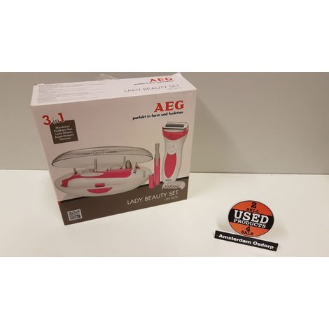 AEG Beautyset wit LBS 5676 | Nieuw