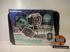 Guardo 360 Waterproof Wifi Action Cam  | Nieuw in Koffer