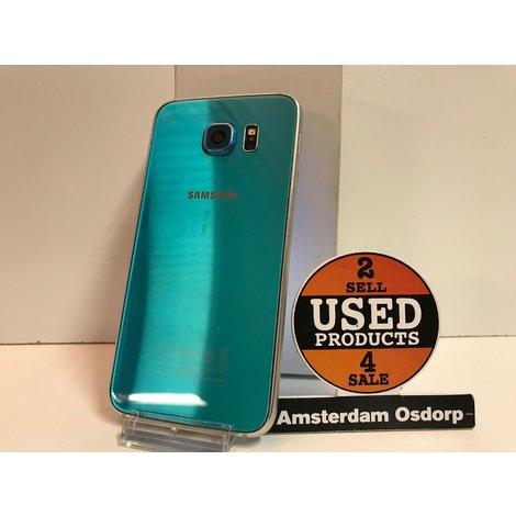 Samsung galaxy S6 32GB Blue Topaz | In Zeer Nette Staat