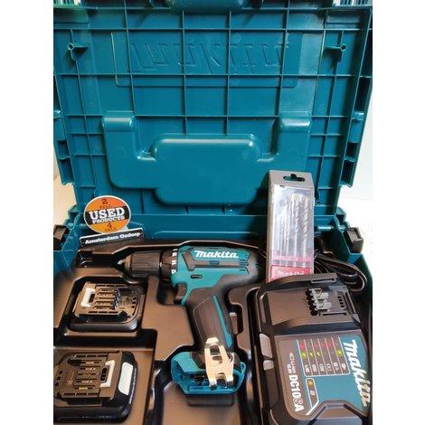 Makita DF331DSAJ 10,8 V Boor-/schroefmachine   Nieuw