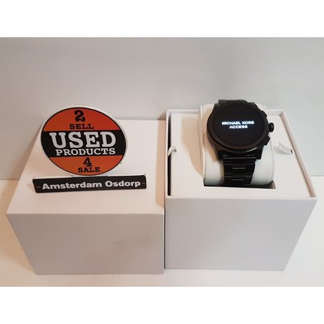 Michael Kors Acess DW4C Smartwatch  Zwart | Nette Staat