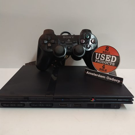 Sony Playstation 2 Slim + Controller | Nette Staat