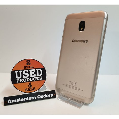 Samsung Galaxy J3 2017 16GB Goud   Nette Staat