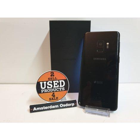 Samsung Galaxy S9 64GB Black Duos | Nieuwstaat