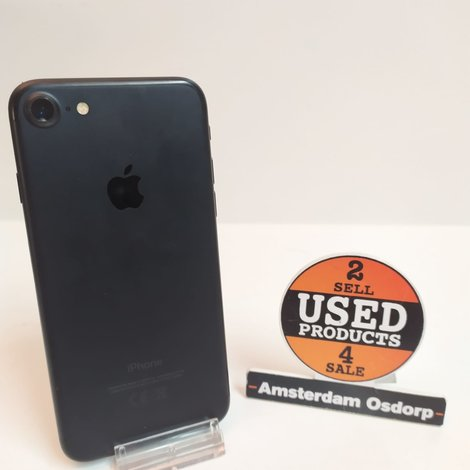 Apple iPhone 7 128GB Black   Nette Staat