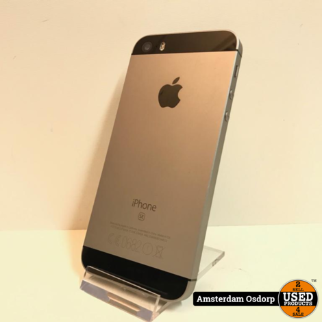 Apple iPhone SE 32GB Space gray | Nette Staat