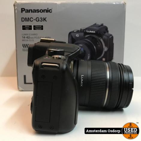 Panasonic Lumix DMC-G3 + 14-42mm lens | compleet in doos