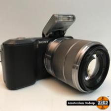 sony Sony Alpha NEX 3 body + 18-55mm lens | gebruikt