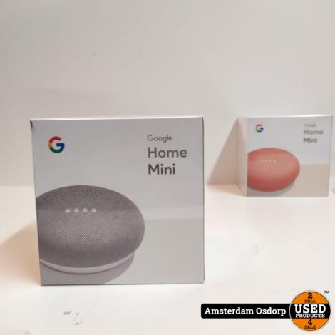 Google Home Mini speaker grijs   NIEUW