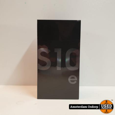 Samsung Galaxy S10E 128GB Zwart   Nieuw 2 jaar garantie