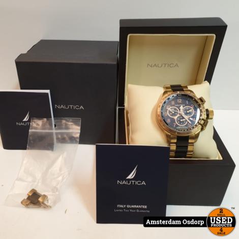Nautica A46000 Yacht Club Horloge | zeer nette staat
