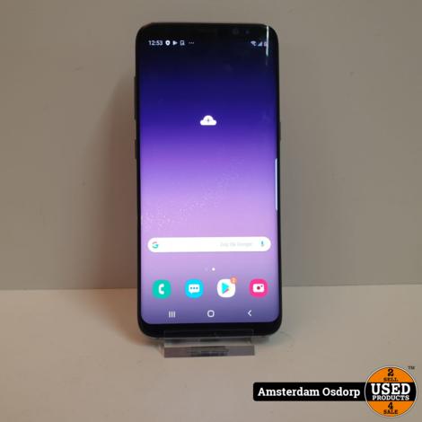 Samsung Galaxy S8 64Gb zwart   nette staat