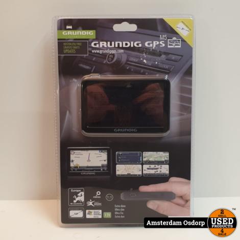 Grundig GPS M5 navigatie Europa | Nieuw