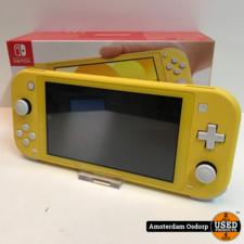 nintendo Nintendo Switch Lite Geel | Nieuwstaat + Bon