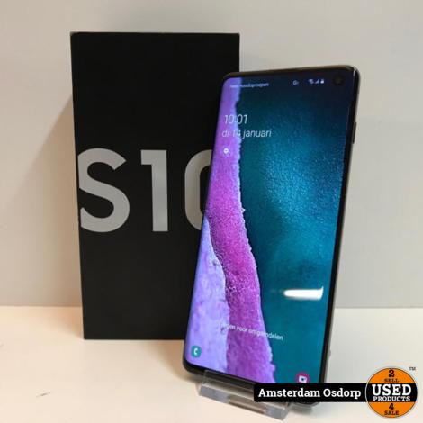 Samsung Galaxy S10 128GB Zwart | nette staat