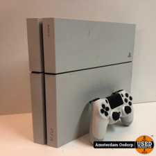 sony Playstation 4 500GB wit + controller | nette staat