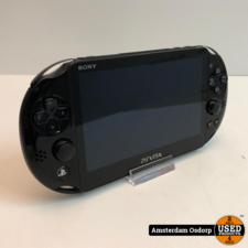 sony Sony PSvita slim 8GB Zwart   Gebruikte staat