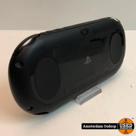 Sony PSvita slim 8GB Zwart   Gebruikte staat
