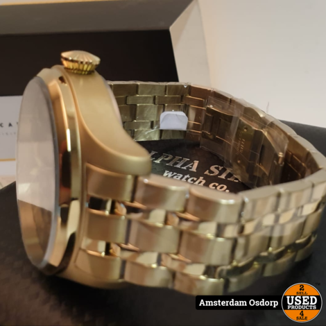 Alpha Sierra AMS03 Automatic Watch | Nieuw in Doos