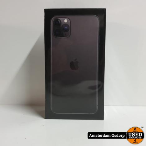 Apple iPhone 11 Pro Max 64Gb Zwart   NIEUW