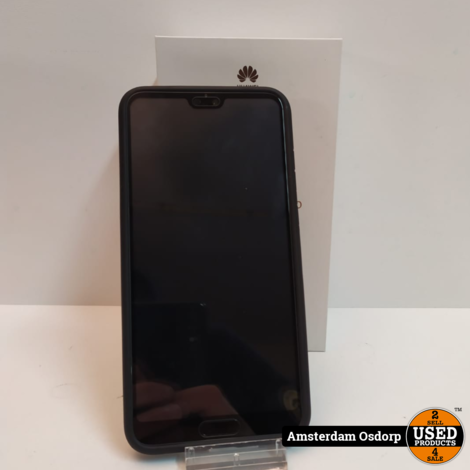 Huawei P20 Pro 128Gb Zwart | Nieuwstaat