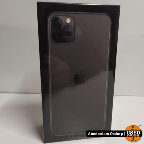 Apple iPhone 11 Pro Max 64GB Space Gray | Nieuw in Seal ~Bon