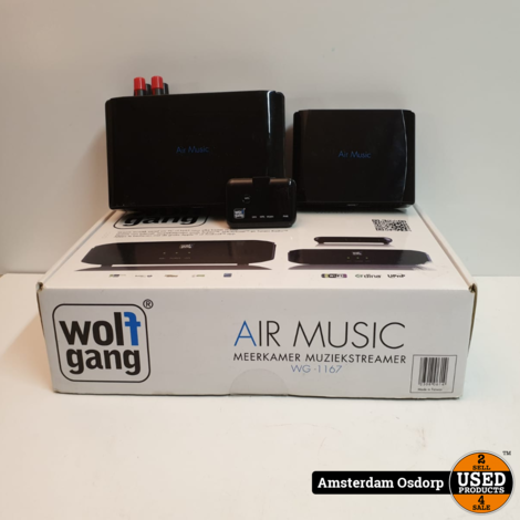 Wolfgang Air music WG-1167 Compleet in Doos