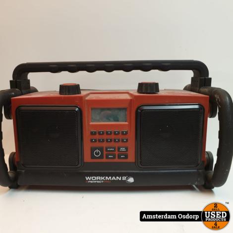 Perfect Pro Workman 2 bouwradio  | gebruikt