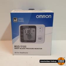 Omron RS3 pols bloedrukmeter | NIEUW