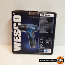 Wesco Wesco WS2611 12V Schroefmachine   nette staat