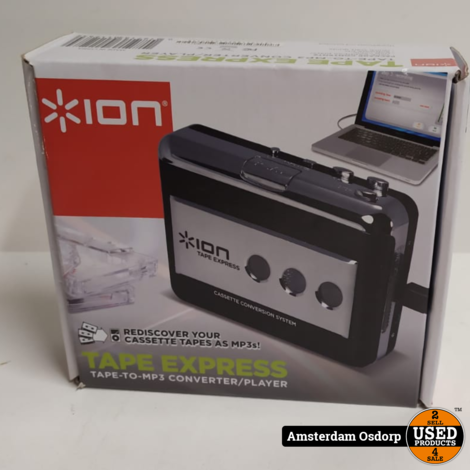 Ion Tape Express Tape to MP3 Converter/Player
