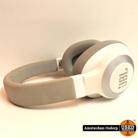 JBL E65BT NC draadloze koptelefoon wit   nette staat