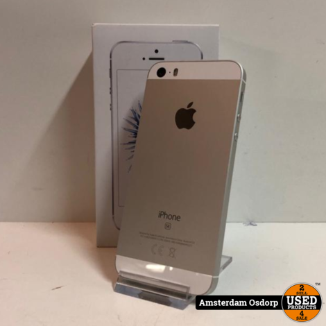 Apple iPhone SE Zilver 32GB  nette Staat