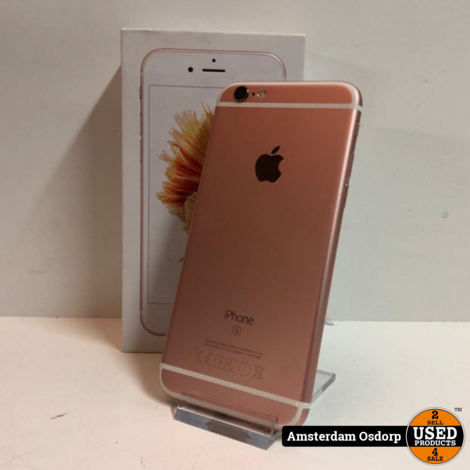 Apple iPhone 6S 64GB Rose Gold > nette Staat