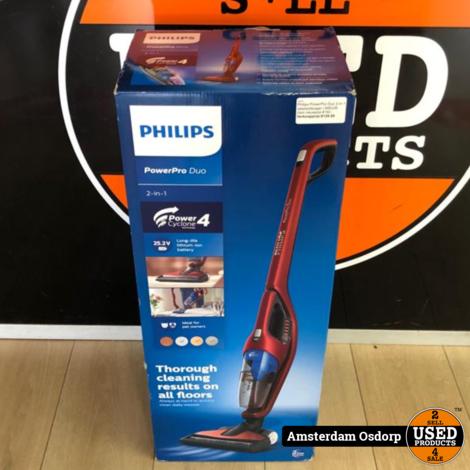 Philips PowerPro Duo 2-in-1 steelstofzuiger   Nieuw in Doos