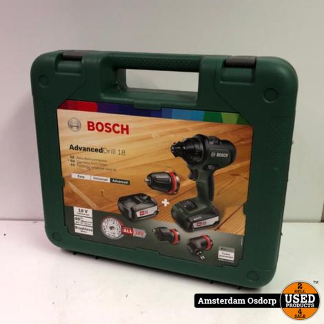 Bosch Advanced Drill 18v | Nieuw in koffer