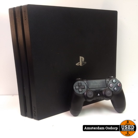 Playstation 4 Pro 1TB Zwart + controller