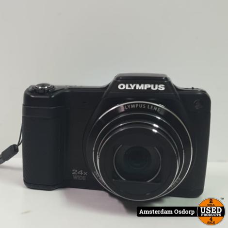 Olympus Stylus SZ-15 Camera Zwart | Nette Staat
