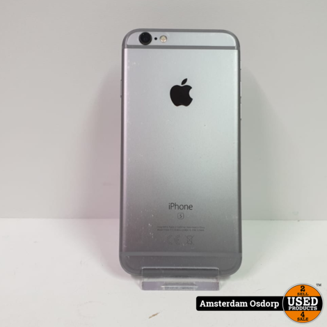 Apple iPhone 6S 64GB Space Grey | Nette Staat