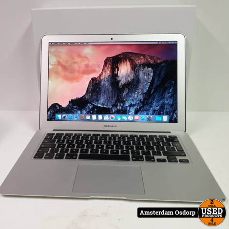 Macbook Air 13 2015 | Core i5 | 4GB | 128SSD | nette staat