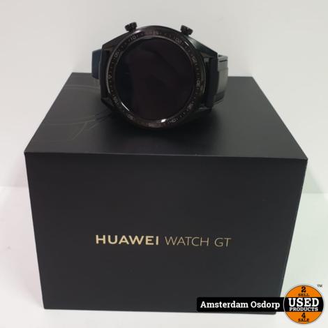 Huawei Watch GT FTN-B19 zwart    ZGAN In Doos