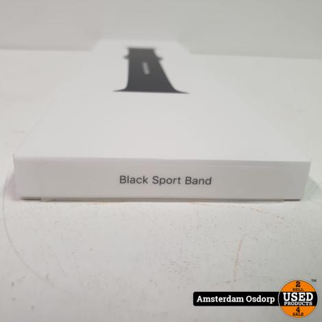 Apple Black Sportband 44MM | Ongebruikt