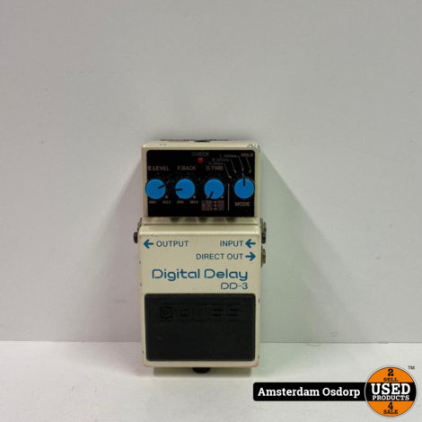 Boss Digital Delay DD-3 Pedaal | Gebruikt