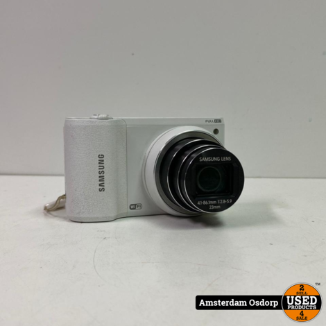 Samsung wb800f Wifi camera wit | nette staat