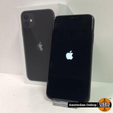 Apple Apple iPhone 11 64GB Zwart | Nette staat