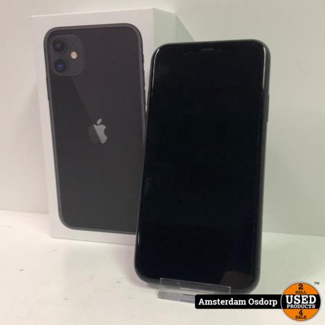 Apple iPhone 11 64GB Zwart   Nette staat