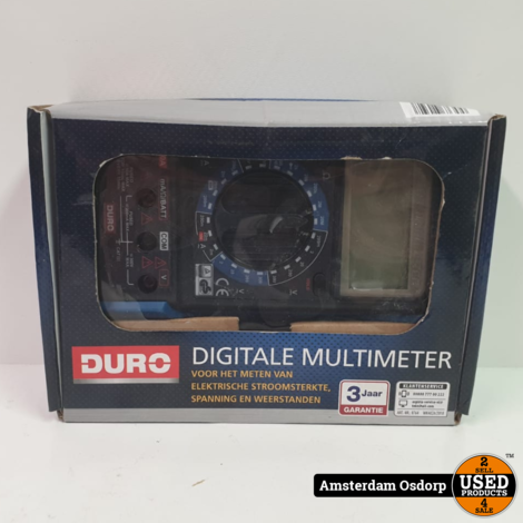 DURO Digitale multimeter | Nieuw in doos