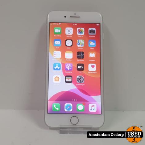 Apple iPhone 8 plus 64GB Zilver | nette staat